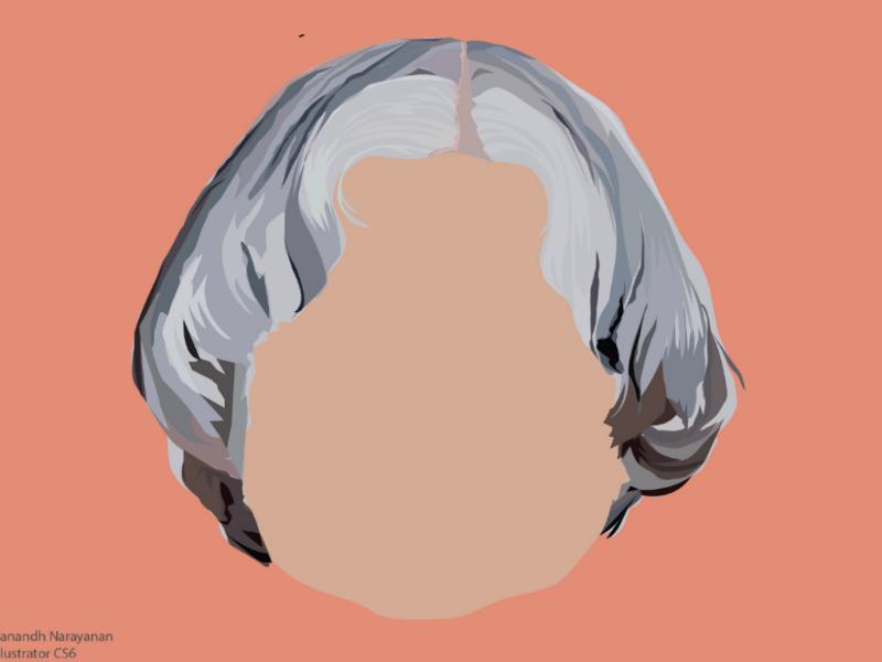 Sir APJ graphicdesign apjabdulkalam vector drawing illustrator