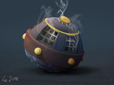 A fantasy Style Grenade/Bomb