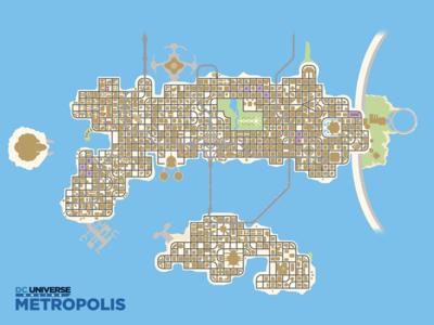 DCUO Explore Metropolis