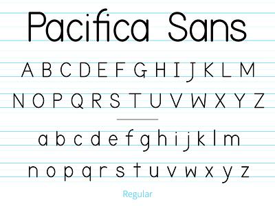 Pacifica Sans adobe illustrator type typeface font