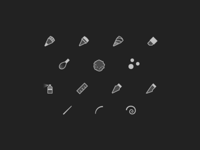 More Tool Icons