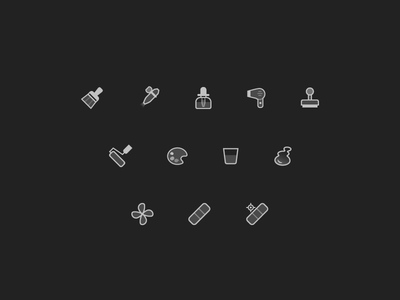 Even More Tools ui icons adobe illustrator