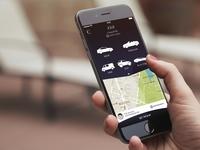 Cab App UI