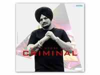 Song Cover Art  (Criminal)
