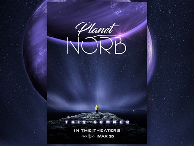 Planet Norb Poster Design