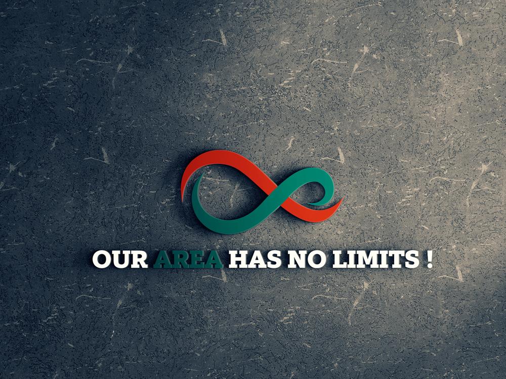 Our Area Has No Limits animation website ui ux illustration clean icon mobile app design creative app app icon typography branding lettering minimalist logo logo minimal design