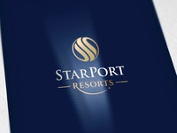 StarPort Logo and Brand Identity Design