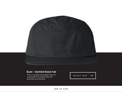 Online store concept ecommerce online store concept minimal black and white shop ui