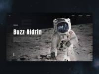 Astronaut - Landing Page