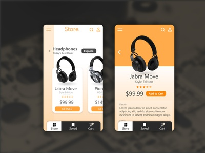 Electronic Store App