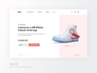 Daily UI #012 — E-Commerce Shop (Single Item)