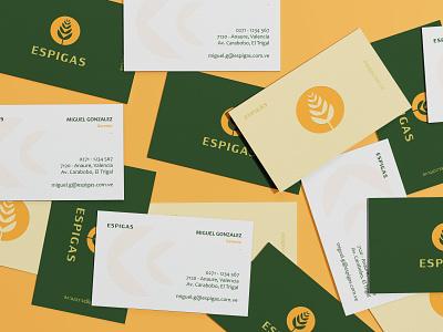 Business Card - Espigas identidadvisual papeleria businesscard logo branding graphic design