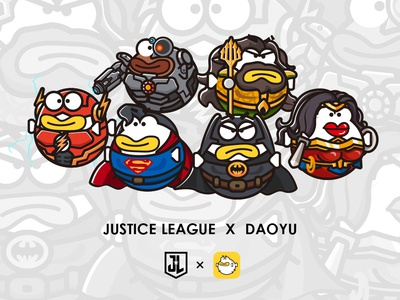 DAOYU-JUSTICE LEAGUE COSPLAY