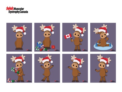 Holiday Ornament Campaign 2016 moose canada donation campaign holiday