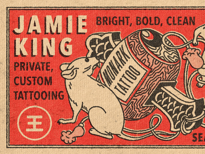 Jamie King Business Card