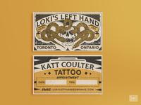 Katt Coulter Business Cards