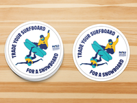Trade Your Surfboard sticker