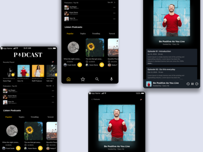 Podcast Exploration App