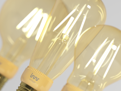 INNR: Filament Light Visualisation - Close