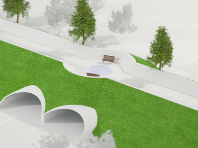 Via Dotta Terraduct design architecture art direction redshift c4d 3d