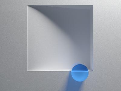 Grey Composition, with color. 1 design art direction redshift cinema4d c4d redshift3d 3d