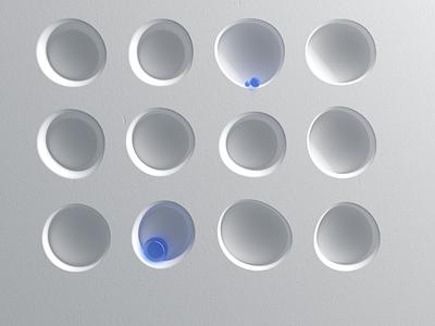 Grey Composition, with color. 3 design architecture art direction 3d redshift c4d