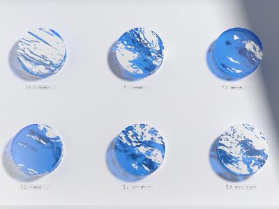 Grey Composition, with color. 4 redshift3d cinema4d amsterdam animation visualisation 3d render design architecture art direction 3d redshift c4d