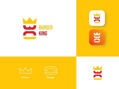 Burger king logo redesign