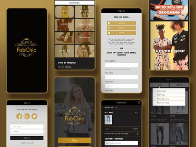 FabChic Application — Shop & Marketplace