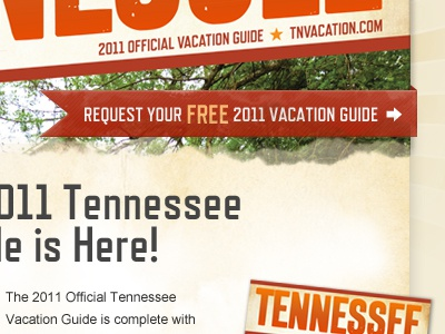 Tennessee Email tennessee email vacation ribbon