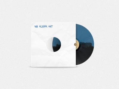 Record, No Album Art record lp music illustration