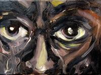 Miles Davis Eyes by BRUNI