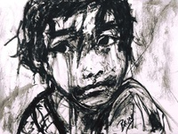 Refugee Child by BRUNI