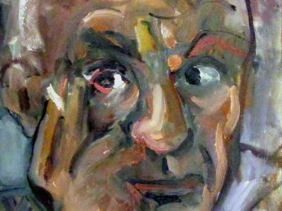 Portrait of Pablo Picasso by BRUNI artists paintings portraits fine art pablo picasso