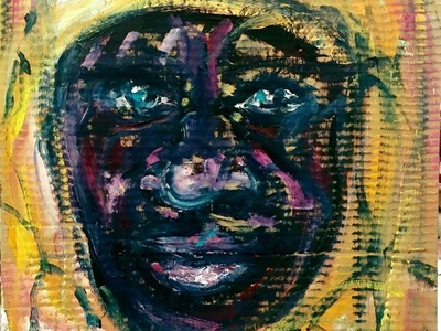 African Face by BRUNI fine art portraits africa african