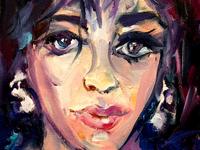 Elizabeth Taylor by BRUNI