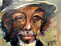 Gil Scott Heron 'The Prophet' by BRUNI