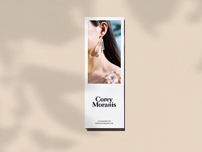 Corey Moranis Lookbook brand design layout design typography design branding branding design lookbook design print design layout publication fashion lookbook print