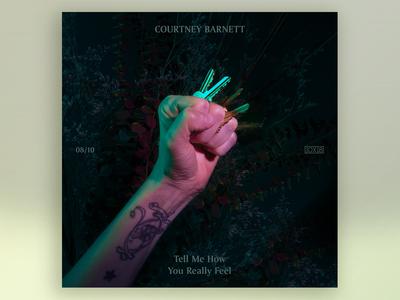 10x18  No. 8 | Courtney Barnett — Tell Me How You Really Feel
