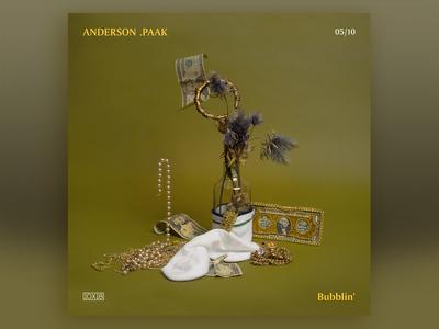 10x18  No. 5 | Anderson .Paak — Bubblin'