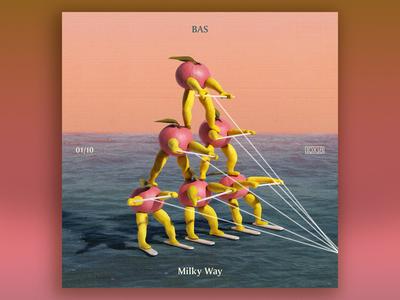 10x18 No. 1 | Bas — Milky Way