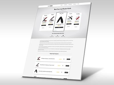 Amazon Review Page Design ui wordpress elementor affiliate marketing