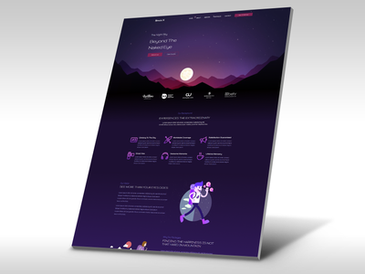 SpaceX Travel Elementor Template travel agency elementor ui