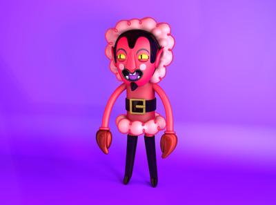 Him powerpuff girls illustration design cinema4d character c4d 3d