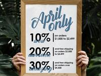April Email