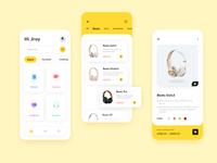 Online retailers App