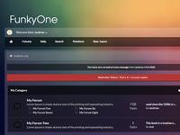 FunkyOne MyBB theme