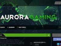 Aurora Gaming MyBB theme