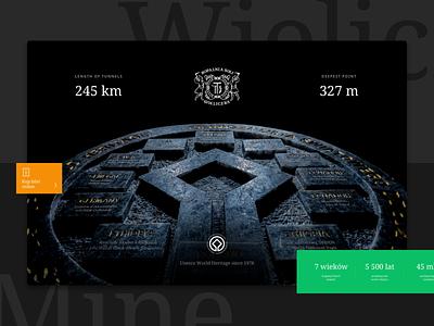 Wieliczka Salt Mine - Unesco World Heritage turist website web design web salt mine culture