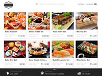 Restaurant Kiosk — Main Screen